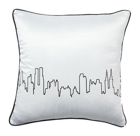 Купить Подушка City Waves White