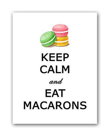 Купить Постер Macarons А4