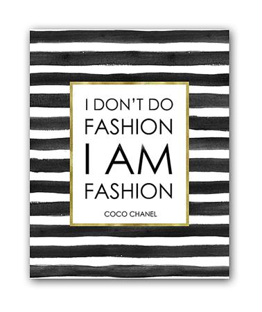 Купить Постер I am fashion А3