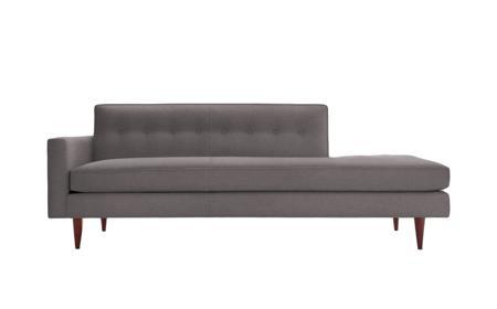 Купить Диван Bantam Studio Sofa Коричнево-Серый Микровелюр