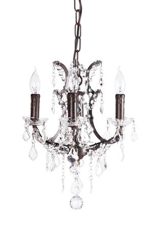 Купить Люстра 19th C. Rococo Iron & Clear Crystal Round Vol.I
