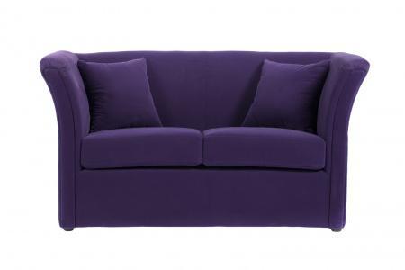 Купить Диван Hollis Фиолетовый Велюр