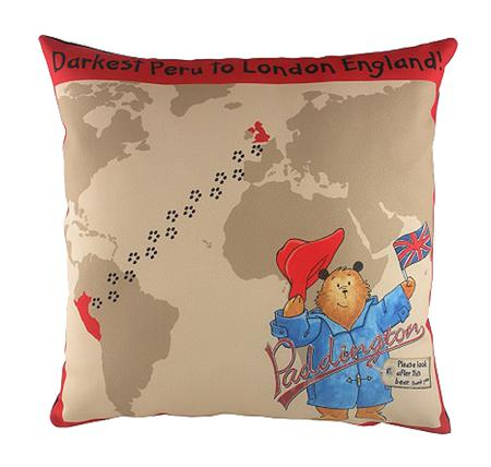 Купить Подушка с медвежонком Paddington Journey