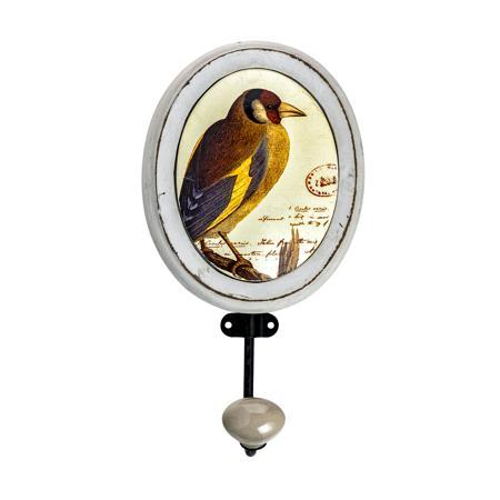 Купить Настенный крючок в стиле прованс Птица