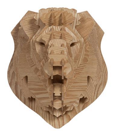 Купить Декоративная голова льва Barlok Sand