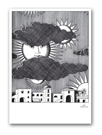Купить Постер Sunny Fornasetti А4