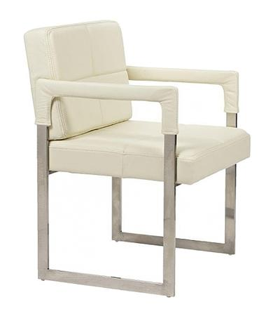 Купить Кресло Aster Chair Cream Premium Leather