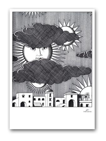 Купить Постер Sunny Fornasetti А3