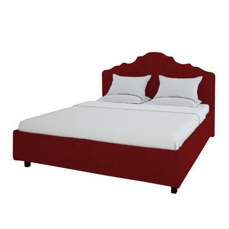 Купить Кровать Palace 200х200 Велюр Красный