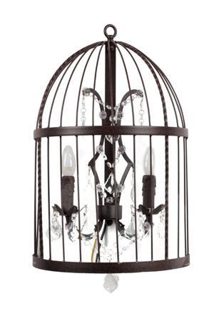 Купить Настенный светильник Vintage Birdcage (50*20*60)