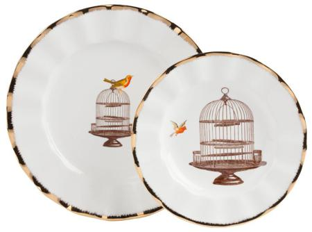 Купить Комплект тарелок Welle