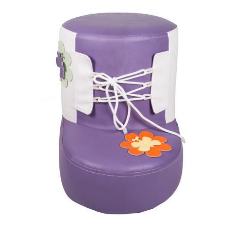 Купить Детский Пуф Башмачок Фиолетовый