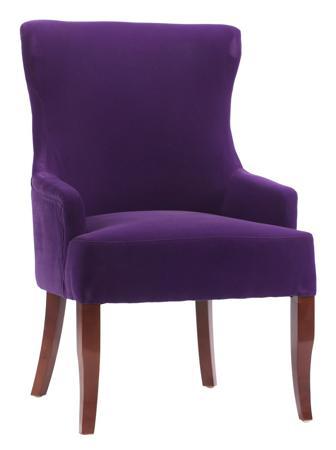 Купить Кресло Aldo Фиолетовый Велюр