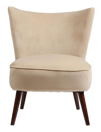 Купить Кресло Vermont Chair Бежевый Велюр