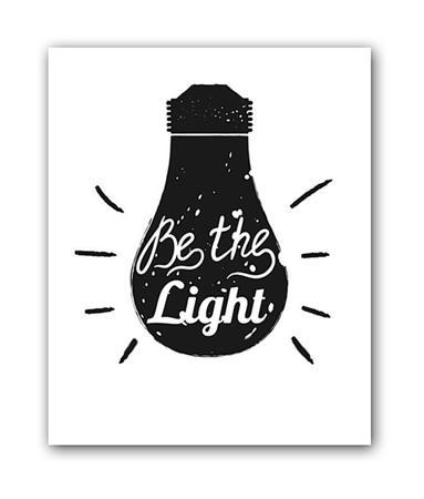 Купить Постер Light А3