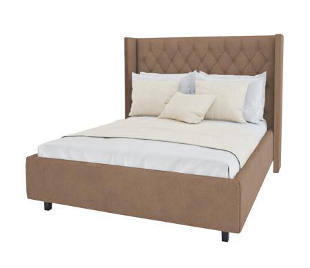 Купить Кровать Wing-2 140х200 Велюр Светло-коричневый