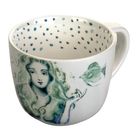 Купить Чашка в морском стиле Русалка
