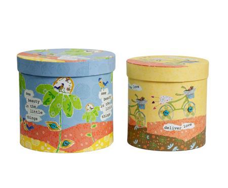 Купить Набор круглых коробок Childhood Grande