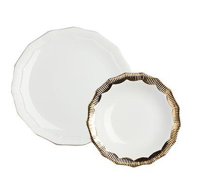 Купить Комплект тарелок Marine Hoss Gold