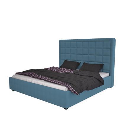 Купить Кровать Elizabeth 140х200 Велюр Морская волна
