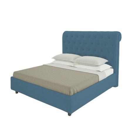 Купить Кровать Sweet Dreams 200х200 Велюр Морская волна
