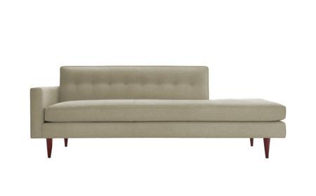 Купить Диван Bantam Studio Sofa Светло-Серый Микровелюр