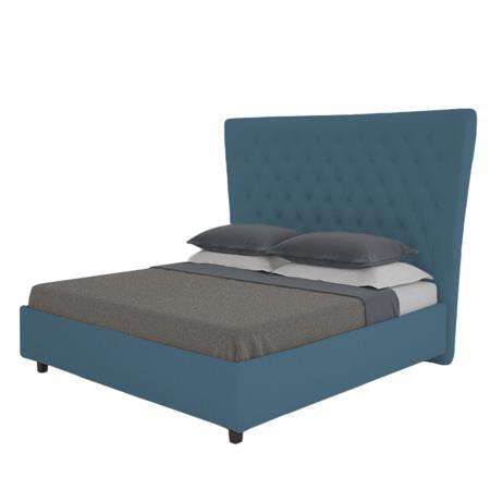 Купить Кровать QuickSand 200х200 Велюр Морская волна