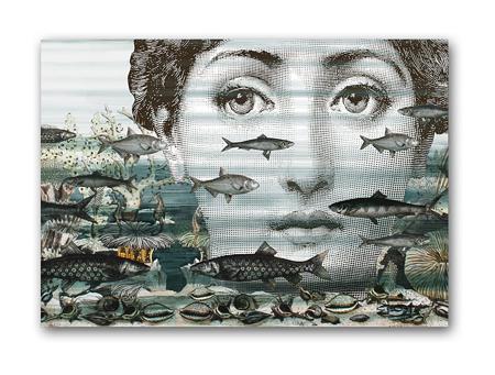 Купить Постер Fornasetti and fish A3