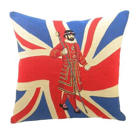 Купить Подушка с британским флагом Beefeater