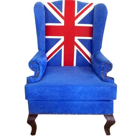 Купить Каминное кресло Union Jack classic