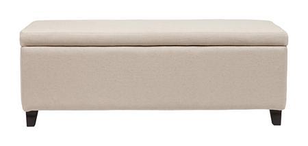 Купить Оттоманка Dean Upholstered Storage Ottoman Белый Лен