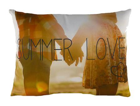 Купить Подушка с принтом Summer Love