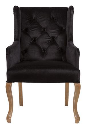 Купить Кресло Ashby Chair Черный Вельвет