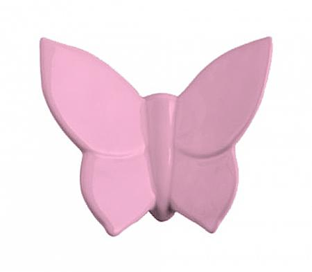 Купить Декоративная бабочка Butterfly (розовая) 9*11