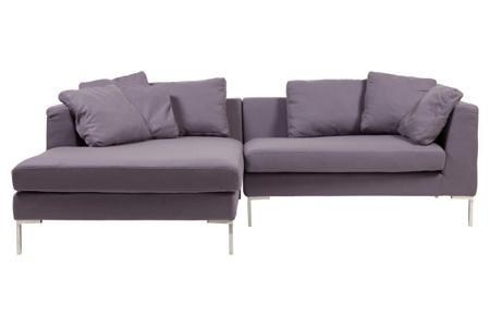Купить Диван Charles Sofa Sectional Left Фиолетовый Кашемир