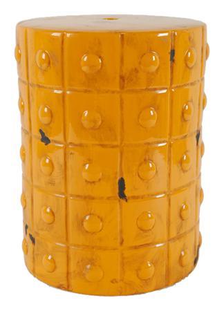 Купить Керамический столик-табурет Mustard Stool Orange