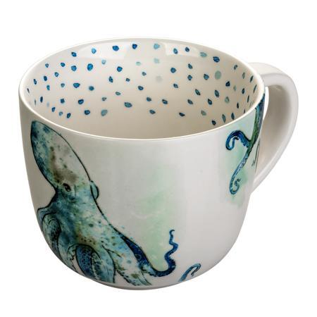 Купить Чашка в морском стиле Осьминог