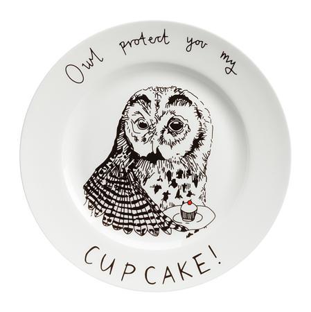 Купить Тарелка Owl protect You My Cup Cake