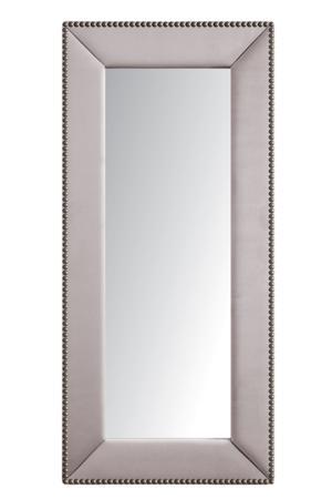 Купить Зеркало напольное с гвоздиками Серо-Розовое