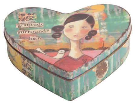 Купить Металлическая шкатулка (коробка) Corazon