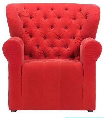 Купить Кресло Daisy Красное