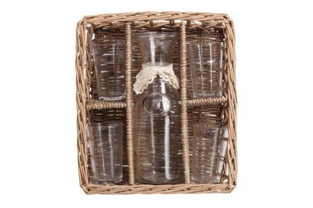 Купить Набор для пикника в плетеной корзинке Picnic