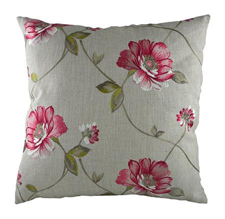 Купить Подушка с цветочным орнаментом Pink Flowers