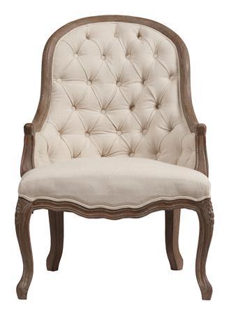 Купить Кресло Armstrong Armchair Белый Лен