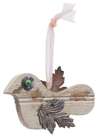 Купить Элемент декора подвесной птичка Blanche