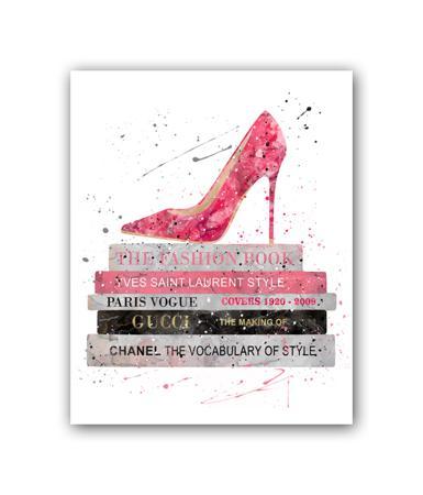 Купить Постер The Fashion book А3