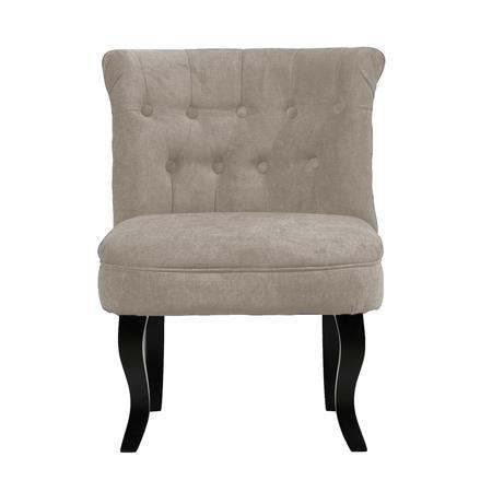 Купить Кресло Dawson Светло-Серый Велюр