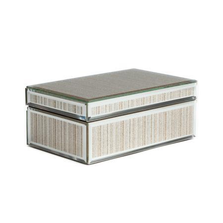Купить Зеркальная шкатулка (коробка) Antiqued прямоугольная