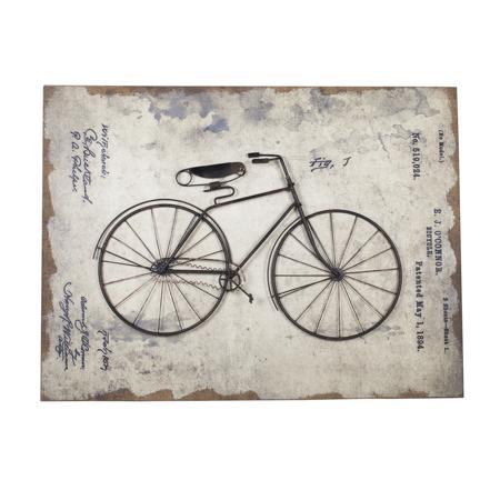 Купить Декоративное настенное панно Bicycle Story