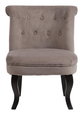 Купить Кресло Dawson Бежево-коричневый Велюр